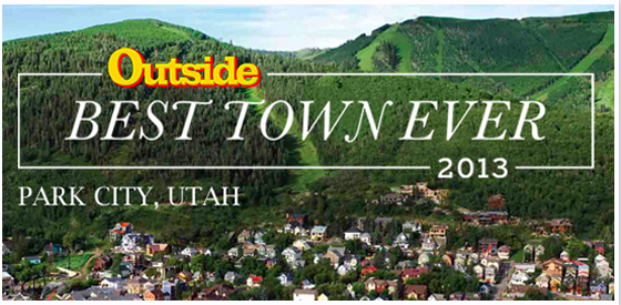 Outside Magazine Picks Park City Utah as Best Place to Live