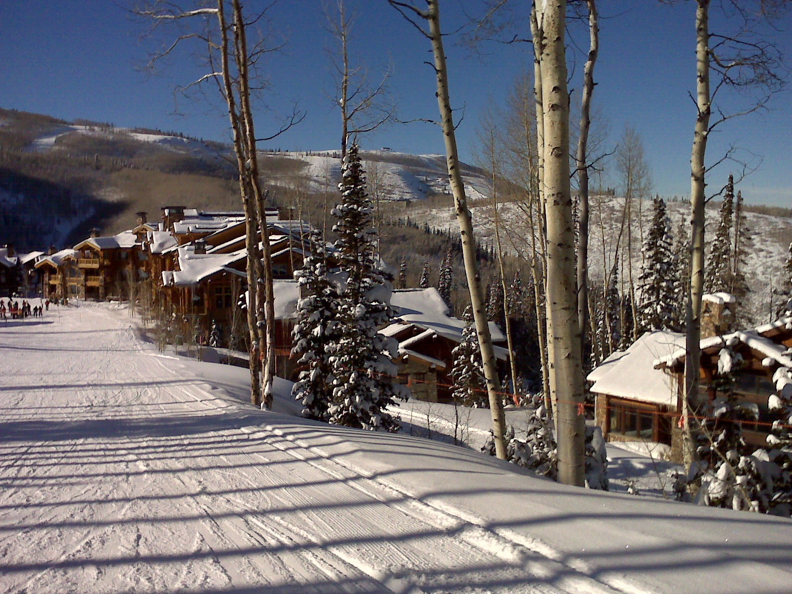 Park City ski in ski out homes